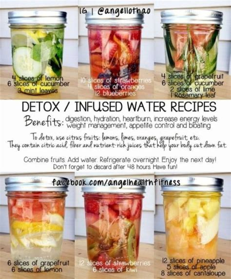 Are Limes As As Lemons For Detox by Detox Infused Water Recipes 1 Lemon Cucumber Mint 2