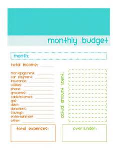 Simple Personal Budget Template Gallery For Gt Simple Blank Monthly Budget Template