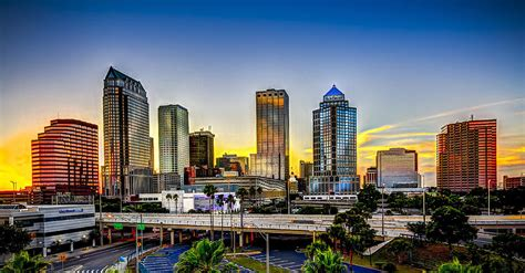 Home Decor Tampa by Tampa Skyline Photograph By Marvin Spates