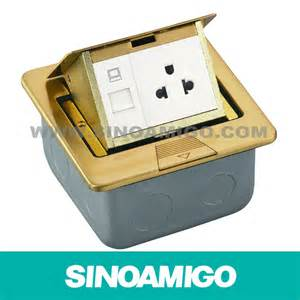 sell pop up floor box with power sockets and data outlet