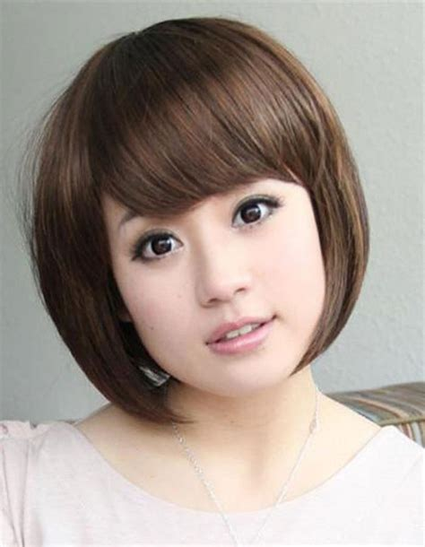 korean haircut for round face 2015 hairstyle for round chubby asian face hair pic hair
