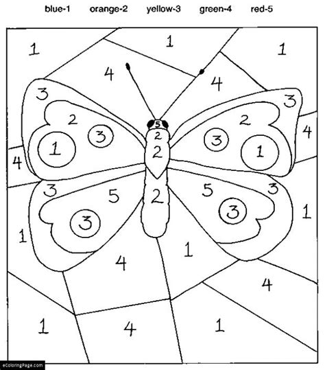file name color by numbers butterfly coloring pages for