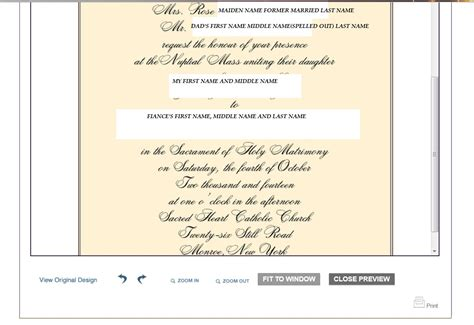 what time should i put on my wedding invitation help me wedding invitation wording