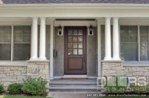 Exterior Front Entry Wood Doors With Glass Classic Collection Solid Wood Front Entry Door Clear Beveled Glass Solid Wood Front