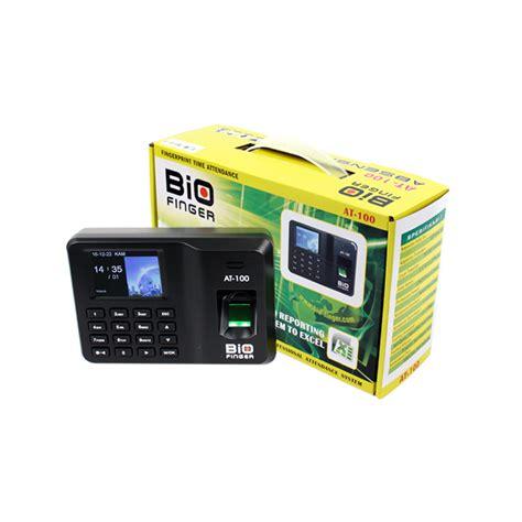 Absensi Sidik Jari Biofinger Tm 600 at 100 biofinger indonesia