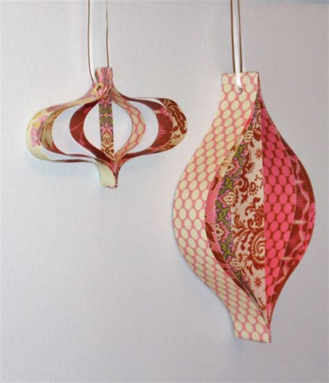Paper Ornaments - retro paper ornaments factory direct craft