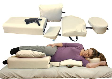 best positions on a couch oakworks side lying positioning system package