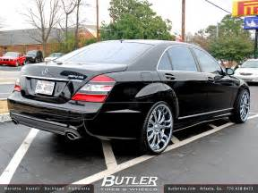 Mercedes With Rims Mercedes S550 With 22in Asanti Af148 Wheels A Photo
