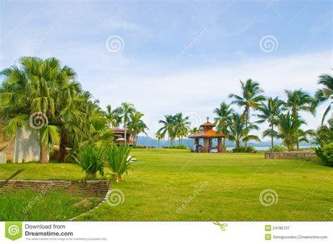 3d Exterior Home Design Free Download green gardan royalty free stock photography image 24780737