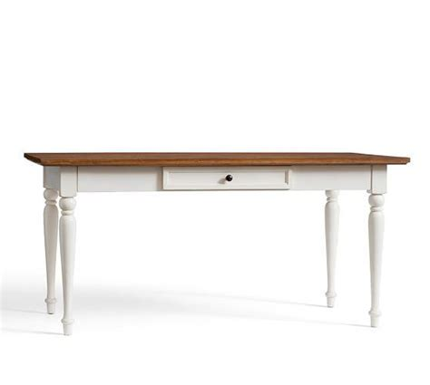 White Wood Writing Desk by Writing Desk In White