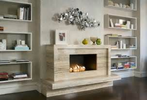 How To Add Built In Bookshelves This Modern Living Room Uses Unique Boxed Shelves To Add
