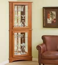 Building Plans For A Corner Curio Cabinet Woodwork Corner Curio Cabinets Plans Pdf Plans