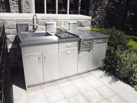 aluminum outdoor kitchen cabinets stainless steel outdoor countertops brooks custom