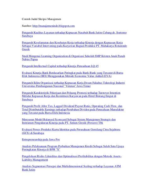 skripsi ekonomi akuntansi manajemen kumpulan contoh judul skripsi akuntansi manajemen auto