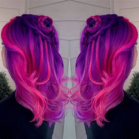 pink and purple ombre 223 best images about chromasilk vivids on pinterest