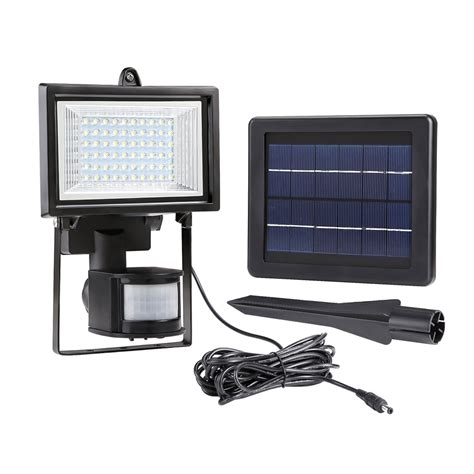 solar led flood lights solar flood light pir motion sensor solar powered