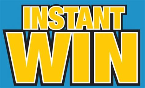 Instant Win Money Games - instant win giveaway list full list of instant win games