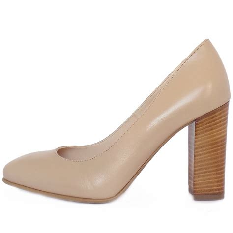 heel shoes for kaiser womens trendy block heel court shoes