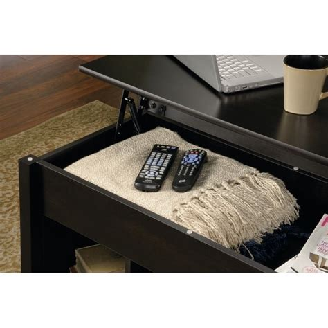 Lift Top Coffee Table Black Lift Top Coffee Table In Estate Black 414856