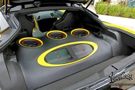 corvette sound system corvette stingray sound system custom car sound systems