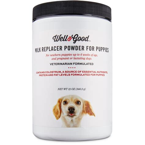 puppy milk replacer well puppy milk replacer petco
