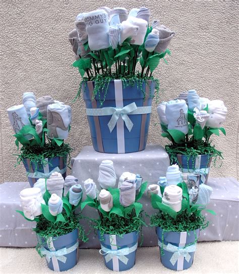 baby boy shower centerpiece unique baby shower centerpieces ultimate boy baby by babyblossomco