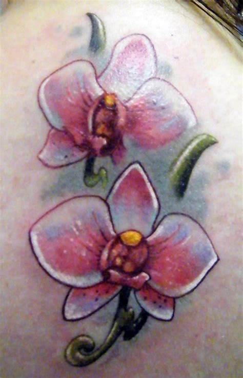 flower neck tattoo designs orchid tattoos designs ideas and meaning tattoos for you