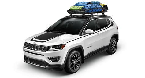 jeep compass all black 2017 all 2017 jeep compass gets more than 90 mopar accessories