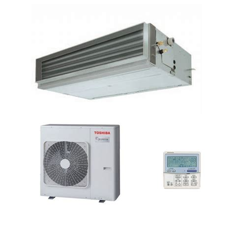 12 5kw mitsubishi electric ducted inverter changeover existing toshiba air conditioning ducted rav sm1406btp e 12 5kw 42000btu heat pump inverter 240v 415v 50hz