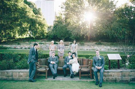 Botanical Gardens Wedding Sydney Nicky And S Sydney Botanic Gardens Wedding Polka Dot