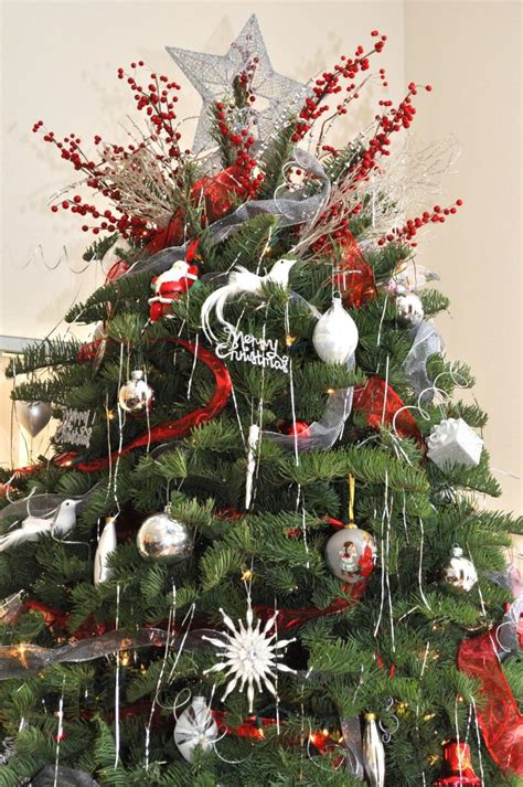 remarkable christmas tree decorations with small star on