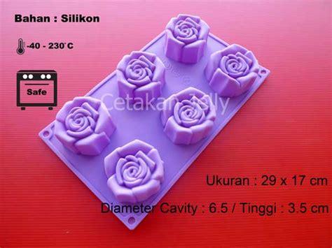 Cetakan Kue Puding 6 Cavity Berkualitas cetakan silikon kue puding 6 cavity ii cetakan
