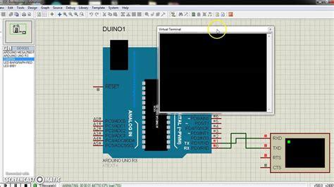 tutorial arduino serial tutorial usart arduino serial read using proteus
