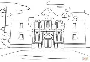 alamo coloring page the alamo coloring page free printable coloring pages