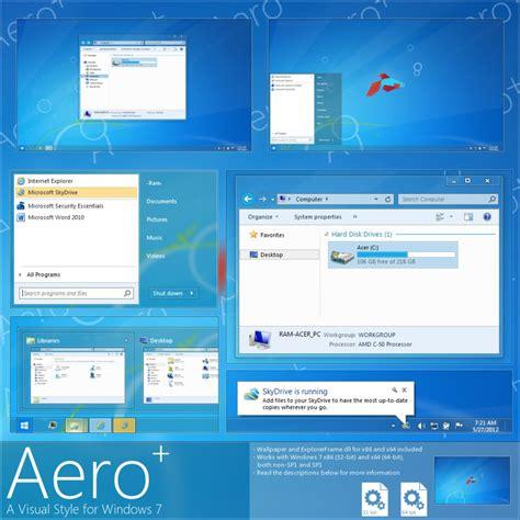 download theme imac for windows 7 windows 7 theme aero plus glow