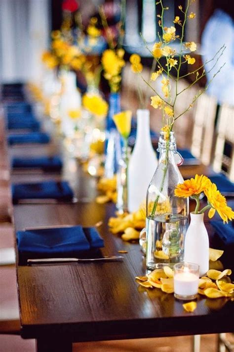 Royal Blue & Yellow Colour Scheme   Wedding Flair