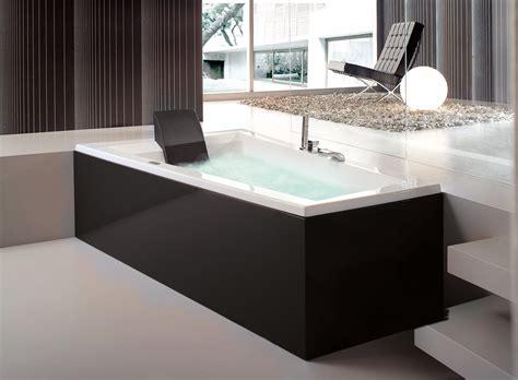 pannelli per vasca da bagno bagno con un tocco di nero cose di casa