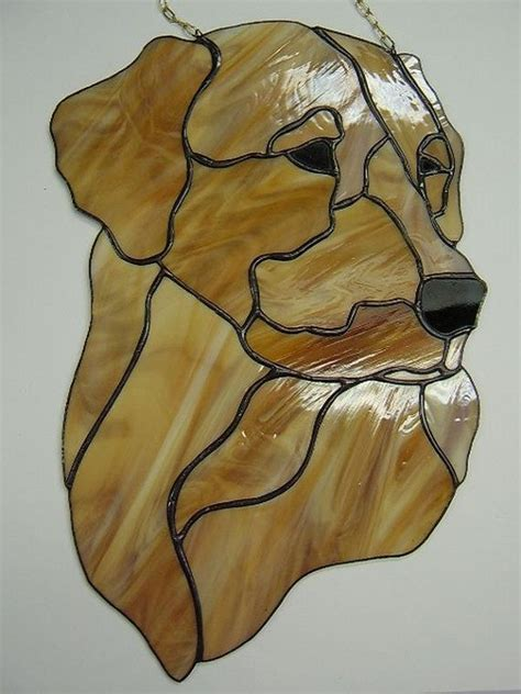golden retriever stained glass pattern 1815 best patterns images on stained glass stained glass windows and