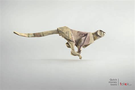 Origami Cheetah - 1click ge cheetah ads of the world