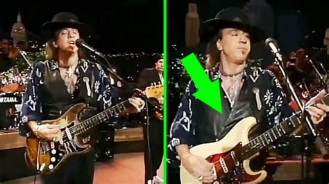 stevie ray vaughan  pulled   smoothest guitar switch   closely daily