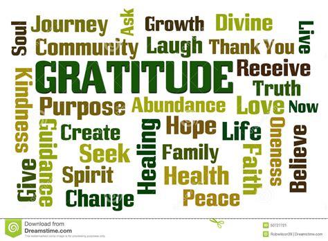 gratitude stock photo image 50727721