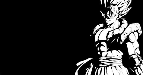 dragon ball z black wallpaper super gogeta 4k ultra hd wallpaper and background