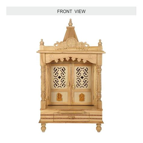 wooden mandir designs for home