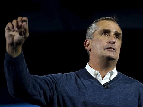 Brian Krzanich Intel Ceo Brian Krzanich Changing Intel Business Insider
