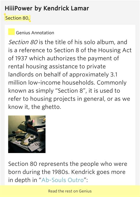 Section 80 Hiiipower Lyrics Meaning
