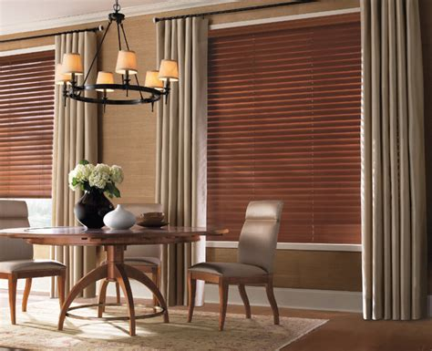 dining room blinds levolor 2 1 2 quot premium wood blinds from blinds com