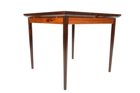 Square Dining Table With Leaves Rosewood Square Draw Leaf Dining Table At 1stdibs