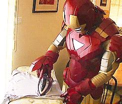 wallpaper gif iron man iron man laundry gif find share on giphy