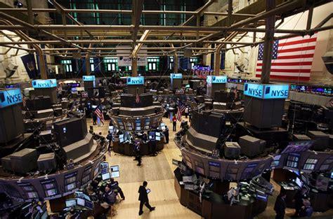 Wall Trading Floor by Us Economics One Big Ponzi Scheme Al Jazeera