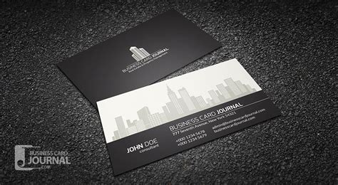 real estate business card template free modern stylish real estate business card template